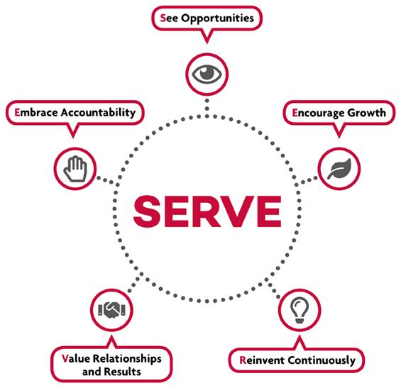 the mvba serve infographic