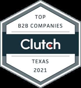 Top B2B Companies of Texas 2021 by Clutch